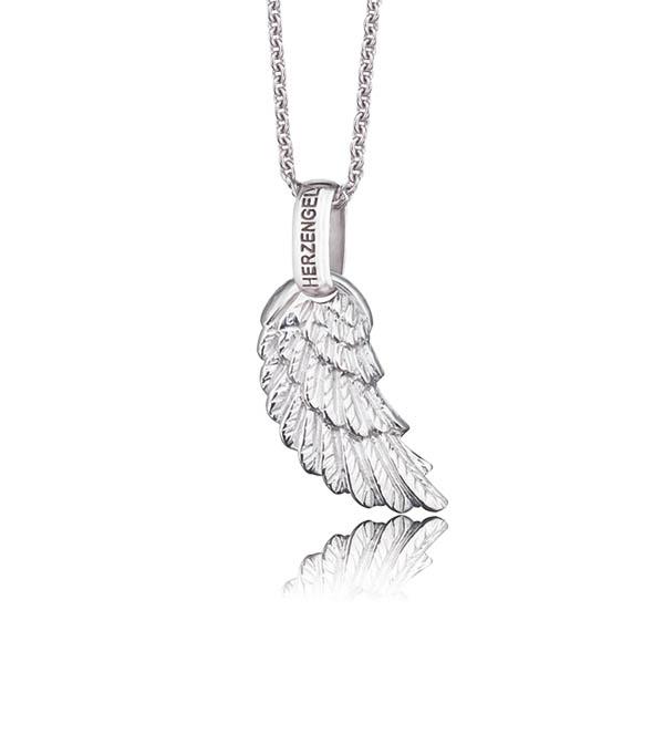Herzengel Halskette Engelsflügel Schmuck / Necklace angel wing Jewellery Time Mode