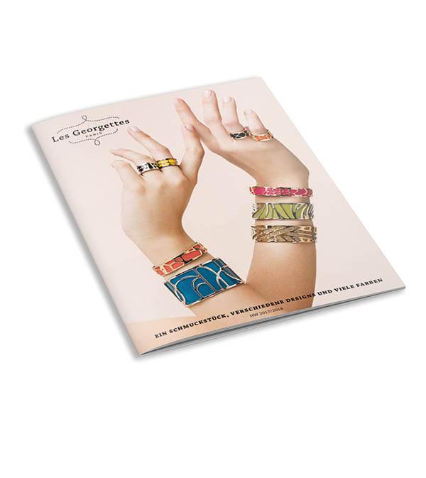 Les Georgettes Schmuck Katalog / Jewellery catalogue Time Mode