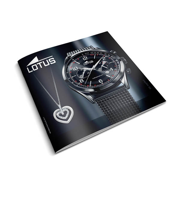 Lotus Uhr und Schmuck Katalog / Watch and Jewellery catalogue Time Mode