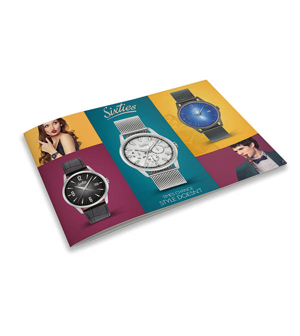 Sixties Uhr Katalog / Watch catalogue Time Mode