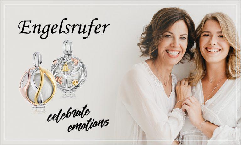 Engelsrufer Anhänger Schmuck / Pendant Jewellery Time Mode