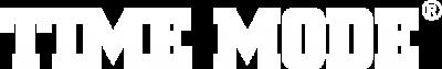 Time Mode Logo weiss