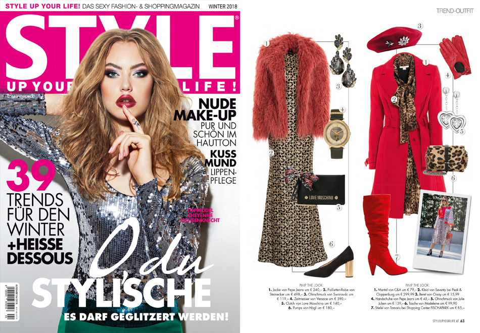 3b377702a5cdc6 Style up your Life – Ausgabe Winter 2018